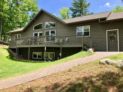 Minocqua Single Family Home For Sale: 8401 Doolittle Rd