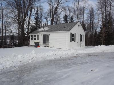 Langlade County, Forest County, Oneida County Single Family Home For Sale: 3299 Round Lake Rd