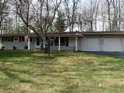 Forest County, Iron Wi County, Langlade County, Lincoln County, Oneida County, Vilas County Single Family Home For Sale: 4092 North Bay Rd