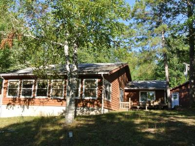 Lac Du Flambeau Single Family Home For Sale: 3367 Schilleman Rd N