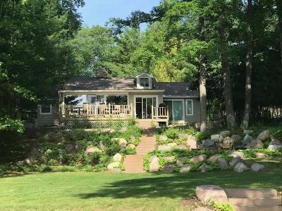 Minocqua WI Single Family Home For Sale: $699,900
