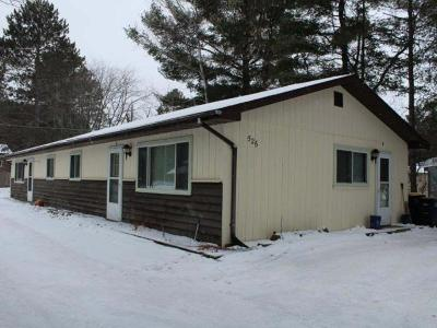 Eagle River WI Duplex For Sale: $89,900