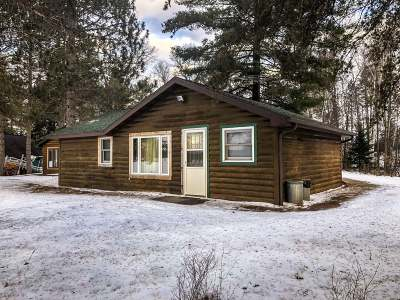 Forest County, Iron Wi County, Langlade County, Lincoln County, Oneida County, Vilas County Single Family Home For Sale: W3779 Nona Bay Rd #12