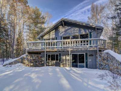 Eagle River WI Single Family Home For Sale: $186,900