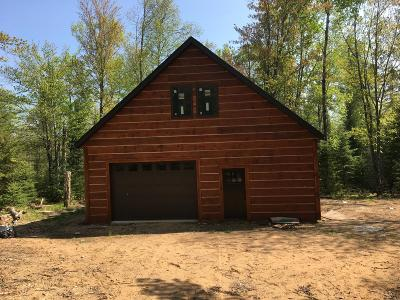 Forest County, Iron Wi County, Langlade County, Lincoln County, Oneida County, Vilas County Single Family Home For Sale: On River Rd #Lot 5