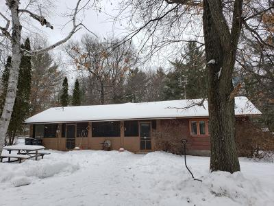 Lincoln County, Price County, Oneida County, Vilas County Single Family Home For Sale: 1214 Jaecks Rd