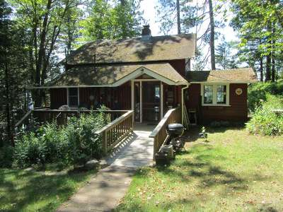 Forest County, Iron Wi County, Langlade County, Lincoln County, Oneida County, Vilas County Single Family Home For Sale: 11125 Kilawee Rd