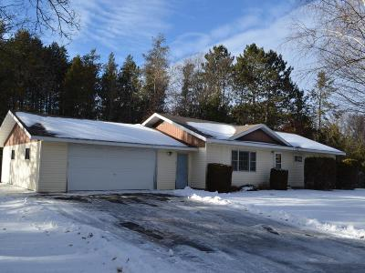 Tomahawk WI Single Family Home Active O/C: $109,900