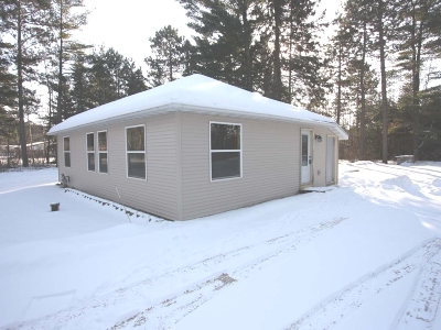 Minocqua Single Family Home For Sale: 9709 Blue Lake Rd
