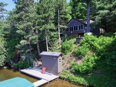 Minocqua Single Family Home For Sale: 8200 Carter Rd #.42 ac