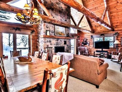 St. Germain WI Single Family Home For Sale: $795,000