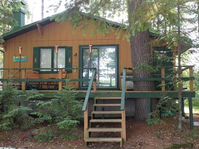 Langlade County, Forest County, Oneida County Single Family Home For Sale: 8533 Wood Ln