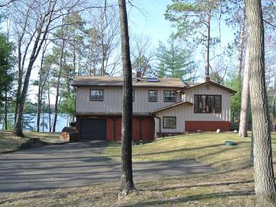 Minocqua Single Family Home For Sale: 8365 Doolittle Rd