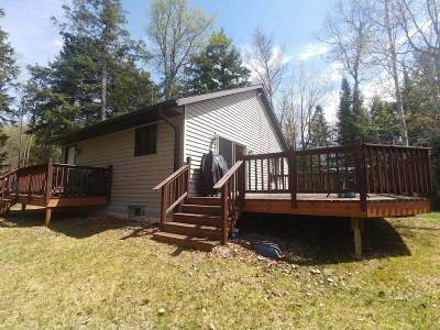 Long Lake WI Single Family Home For Sale: $209,000