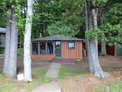 Forest County, Iron Wi County, Langlade County, Lincoln County, Oneida County, Vilas County Single Family Home For Sale: 3011 Rifle Rd S