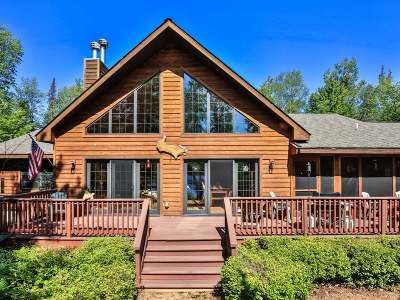 Presque Isle Single Family Home For Sale: 8074 Bow Rd