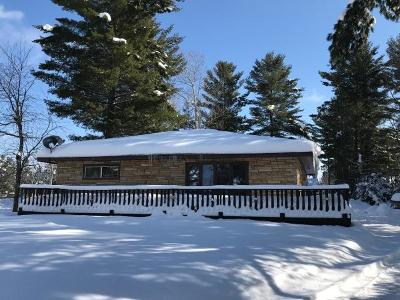 Eagle River WI Single Family Home For Sale: $119,000