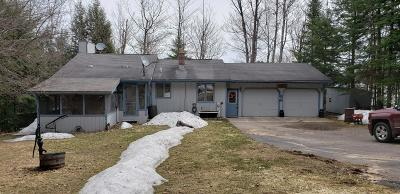 Minocqua Single Family Home For Sale: 8824 Forest Ln
