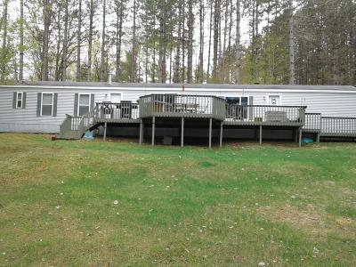 Forest County, Iron Wi County, Langlade County, Lincoln County, Oneida County, Vilas County Single Family Home For Sale: 2654 Manuel Lake Rd