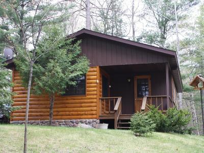 Minocqua Single Family Home For Sale: 11070 Bellwood Dr #41