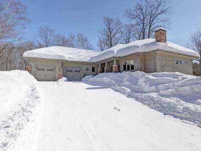Lincoln County, Price County, Oneida County, Vilas County Single Family Home Active Under Contract: 4012 Hook Lake Rd