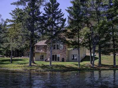 Minocqua WI Single Family Home For Sale: $579,900