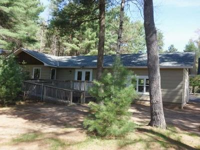 Minocqua Single Family Home For Sale: 9251 Cth J