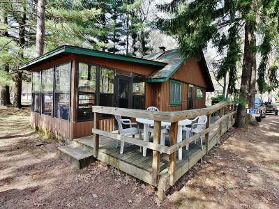 Forest County, Iron Wi County, Langlade County, Lincoln County, Oneida County, Vilas County Condo/Townhouse For Sale: 7661 Estrold Rd #6