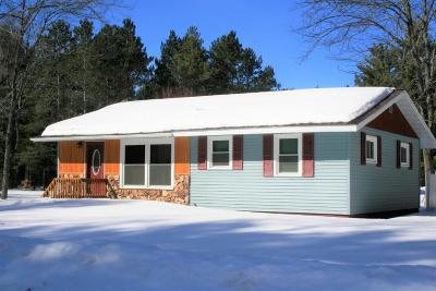 Tomahawk Single Family Home Active Under Contract: W5721 Daoust Rd