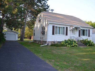 Tomahawk WI Single Family Home Active O/C: $105,000