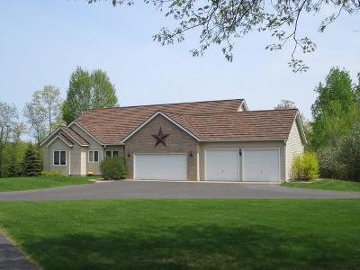 Nokomis Single Family Home For Sale: 3362 Lakewood Rd #40 ac.