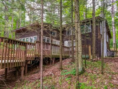 Forest County, Iron Wi County, Langlade County, Lincoln County, Oneida County, Vilas County Single Family Home For Sale: N12039 Deer Lake Rd