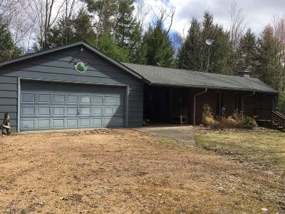 White Lake Single Family Home Active Under Contract: N6197 High Point Rd