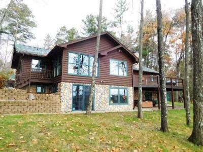 Lake Tomahawk Single Family Home For Sale: 6622 Bluebird Rd S