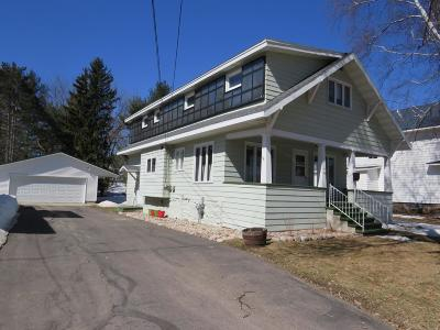 Antigo Single Family Home Active O/C: 230 Clermont St