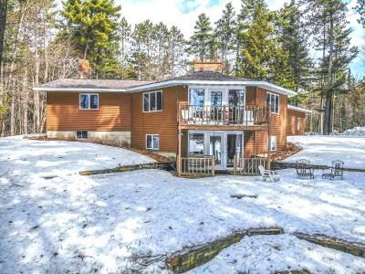 Lincoln County, Price County, Oneida County, Vilas County Single Family Home For Sale: 8904 Skudris Rd