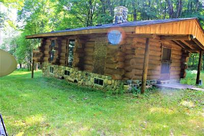 Forest County, Iron Wi County, Langlade County, Lincoln County, Oneida County, Vilas County Single Family Home For Sale: 8549 Crawford Lake Rd