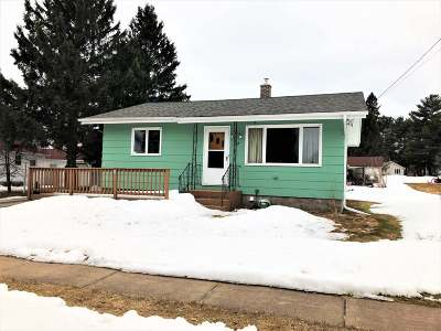 Butternut Single Family Home For Sale: 209 3rd St N