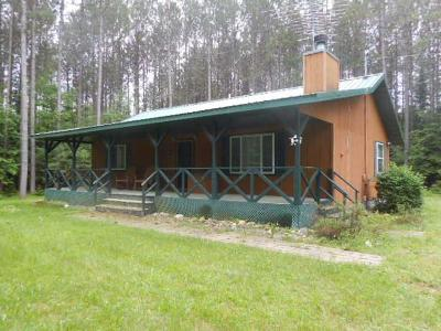 Single Family Home For Sale: N10438 Hwy 55