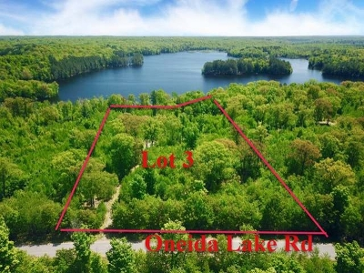 Rhinelander Residential Lots & Land For Sale: 3288 Oneida Lake Rd