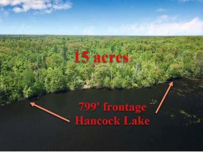 Rhinelander Residential Lots & Land For Sale: On Oneida Lake Rd