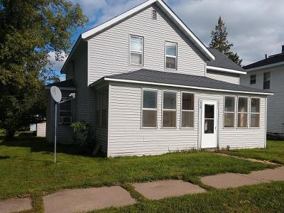 Park Falls Single Family Home For Sale: 456 1st Ave