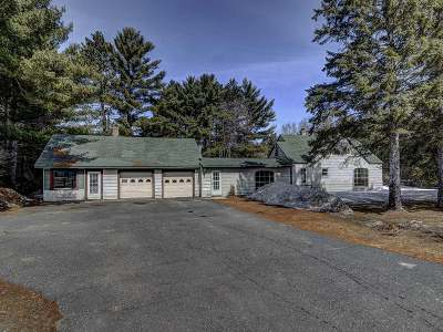 Eagle River Single Family Home For Sale: 4300 Hwy 70