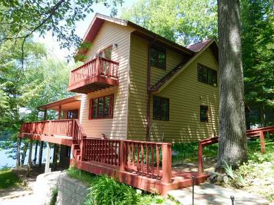 Summit Lake Single Family Home For Sale: N9252 North Shore Rd