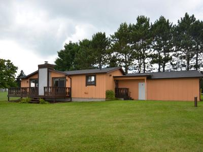 Single Family Home For Sale: N5279 North Shore Rd