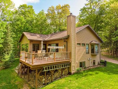 Lincoln County, Oneida County, Price County, Vilas County Single Family Home For Sale: 2997 Wausau Rd
