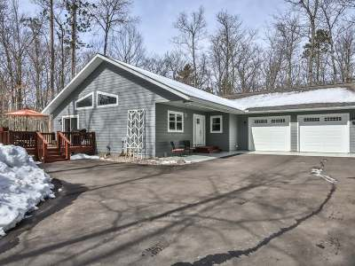 St Germain WI Single Family Home Sold: $337,000
