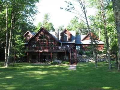 Rhinelander WI Single Family Home For Sale: $735,000