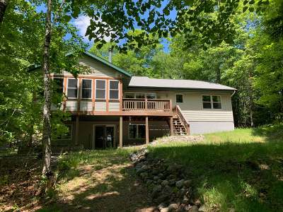 Lincoln County, Price County, Oneida County, Vilas County Single Family Home For Sale: 7103 Beyer Rd