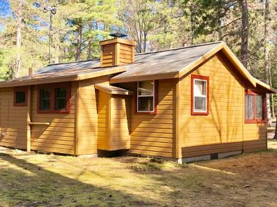 Forest County, Iron Wi County, Langlade County, Lincoln County, Oneida County, Vilas County Condo/Townhouse For Sale: 3289 Whispering Pines Ln